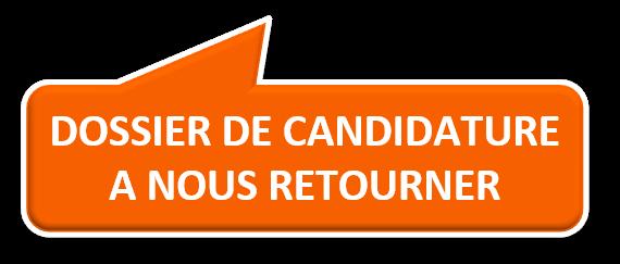 Dossier candidature Cnam