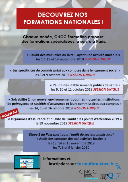 formations nationales