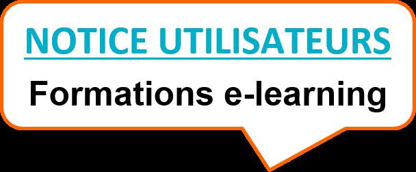 notice utilisateurs e-learning